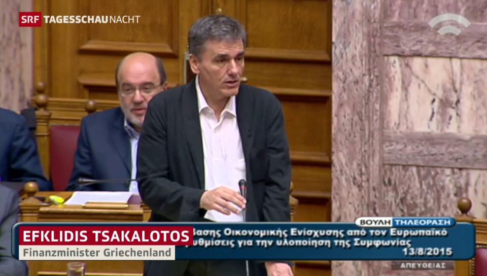 Vor dem Schicksalsvotum in Athen