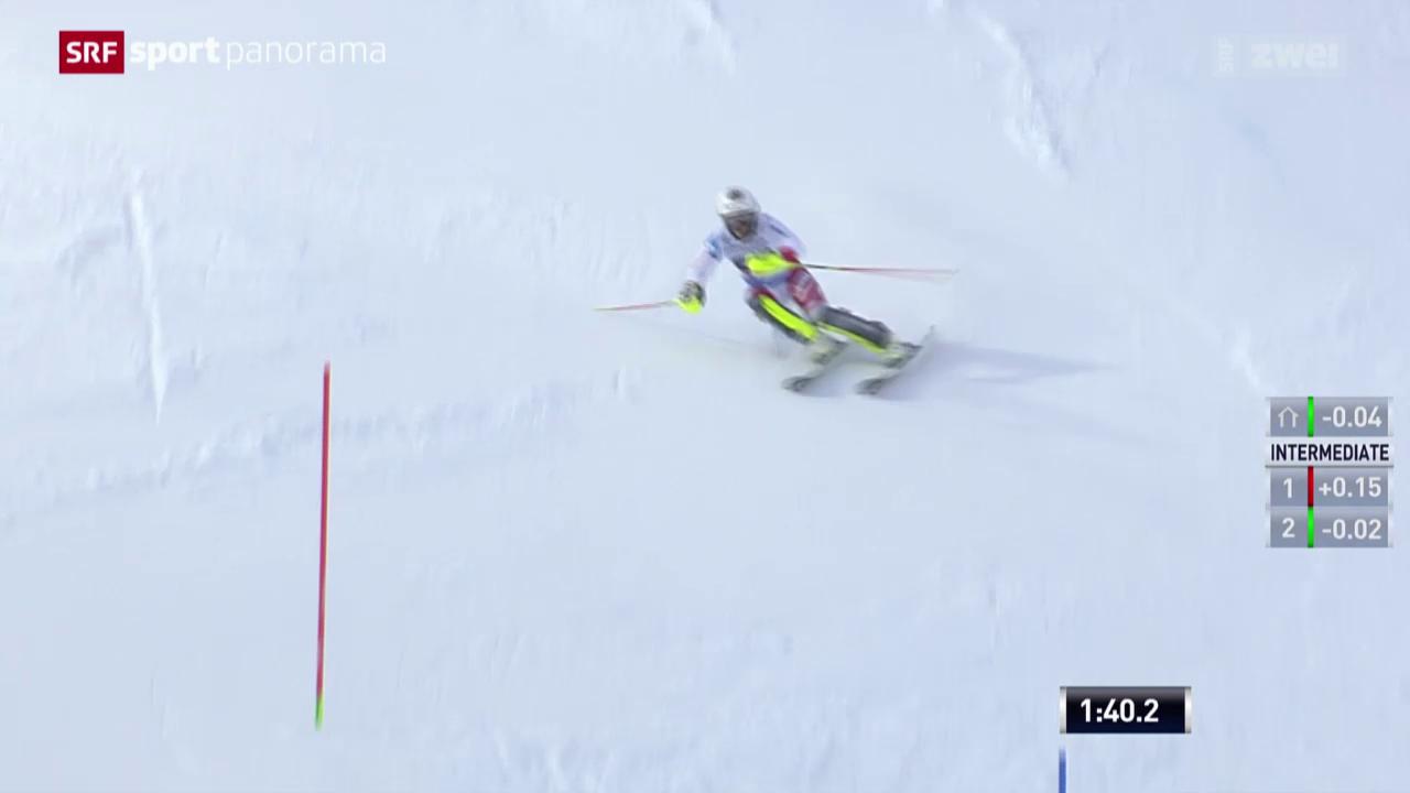 Ski alpin: Frauen Slalom in Are