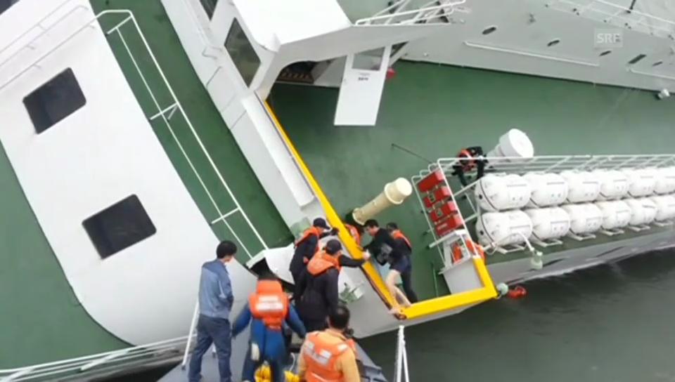 Korea: Kapitän verlässt das sinkende Schiff