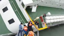 Video «Korea: Kapitän verlässt das sinkende Schiff» abspielen