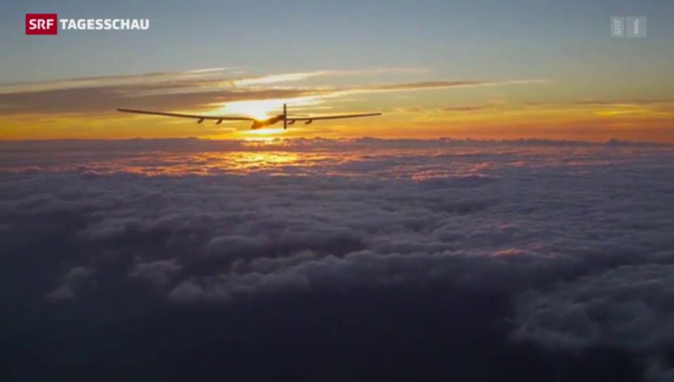 Im Solarflugzeug um die Welt
