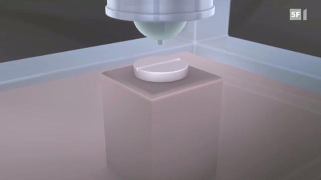 Kopien aus dem 3-D-Drucker: «Einstein» vom 13.12.2012