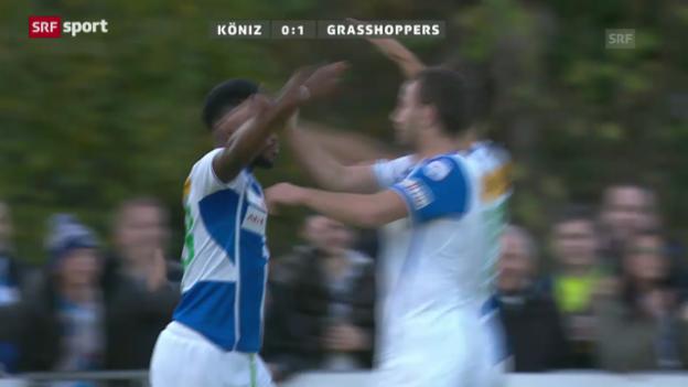 Video «Matchbericht Köniz-GC («sportaktuell»)» abspielen