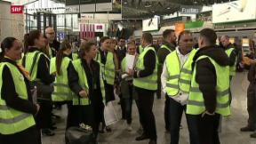 Video «Lufthansa bleibt am Boden» abspielen