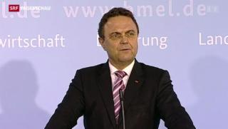 Video «Der deutsche Landwirtschaftsminister Friedrich tritt zurück» abspielen