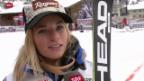 Video «Lara Gut sichert sich ersten Weltcup-Sieg in der Kombination» abspielen