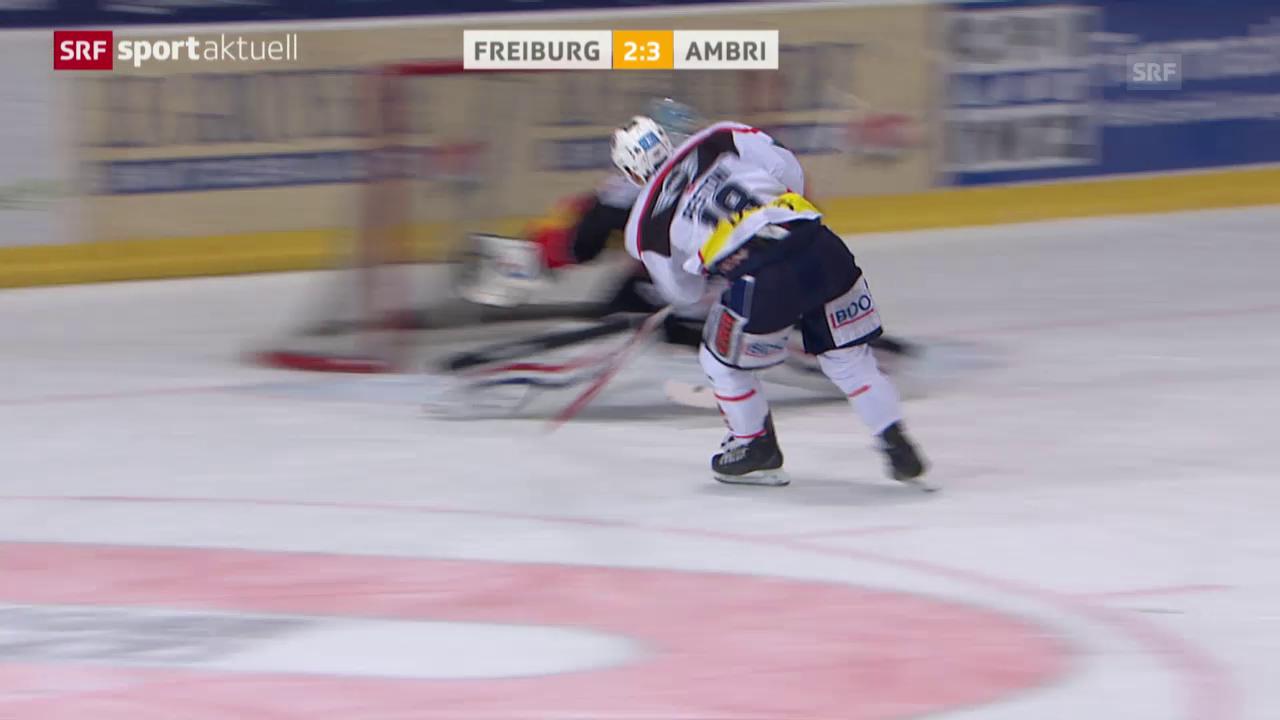 Eishockey: Freiburg-Ambri