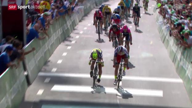 Video «Rad: Tour de Suisse, 7. Etappe» abspielen