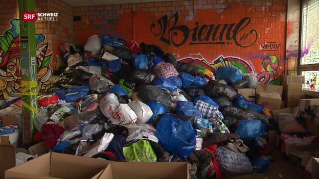 Video «Hilfsorganisation in Not» abspielen