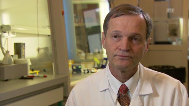 Video «Krebsspezialist Daniel Speiser zur Immuntherapie» abspielen