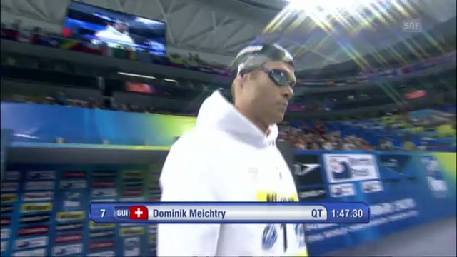 WM 2011: Meichtrys 7. Rang im 200-m-Rennen