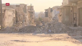 Video «Waffenruhe in Syrien in Gefahr» abspielen