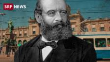 Link öffnet eine Lightbox. Video Alfred Escher: Eisenbahn-Pionier, Banken-Gründer und Nationalrat abspielen
