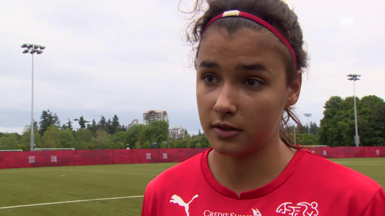 Fussball: Frauen-Nati, Cinzia Zehnder über ihre Prüfungsvorbereitungen