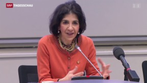 Video «Fabiola Gianotti – frischgebackene Cern-Chefin» abspielen