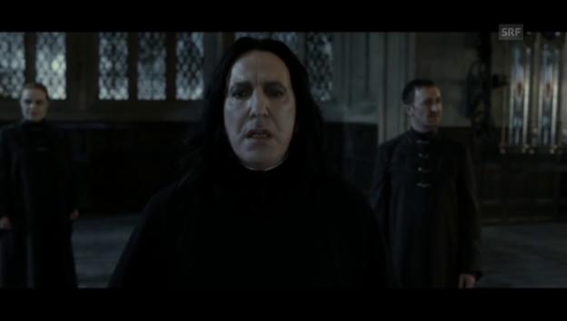 Video «Als Professor Severus Snape wurde Rickman weltberühmt» abspielen