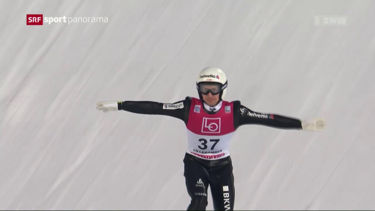 Ammann in Lillehammer klar geschlagen