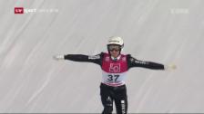 Video «Ammann in Lillehammer klar geschlagen» abspielen