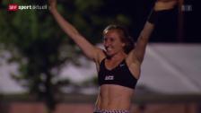 Video «Leichtathletik: Schweizer Meisterschaften 2015 in Zug» abspielen