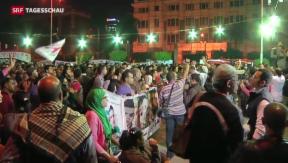Video «Ägypter ringen um Verfassung» abspielen