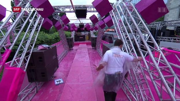 Video «Street Parade bringt Zürich zum Tanzen» abspielen
