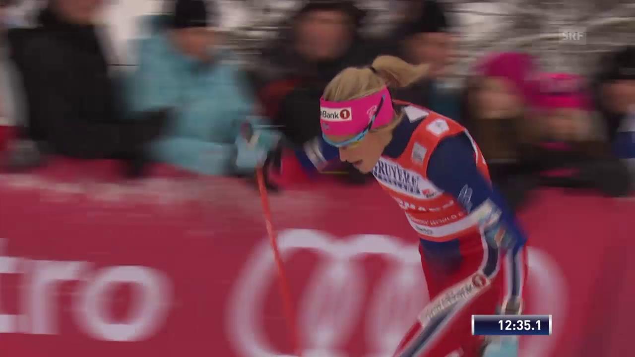 Langlauf: 10 km Verfolgung klassisch der Frauen in Kuusamo