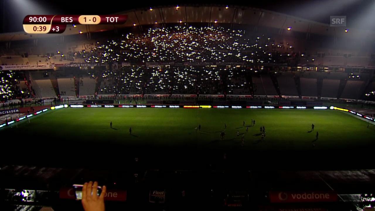 Fussball: Europa League, Besiktas - Tottenham