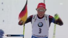 Video «Dahlmeier feiert erstes WM-Einzel-Gold» abspielen