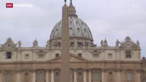 Video «Jubiläumsjahr in Rom beginnt» abspielen