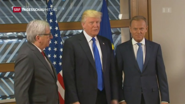 Video «Trump in Brüssel» abspielen