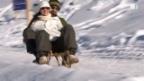 Video «Schlittler unterschätzen Tempo» abspielen
