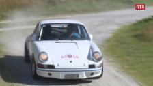 Laschar ir video «Impressiuns da Tujetsch dal prolog da la Rallye Gotthard»
