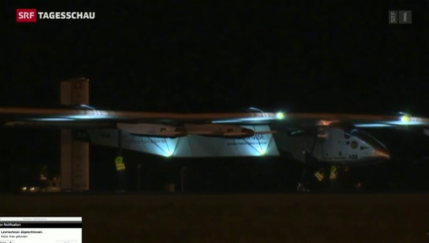 Video «6. Etappe von Solar Impulse» abspielen
