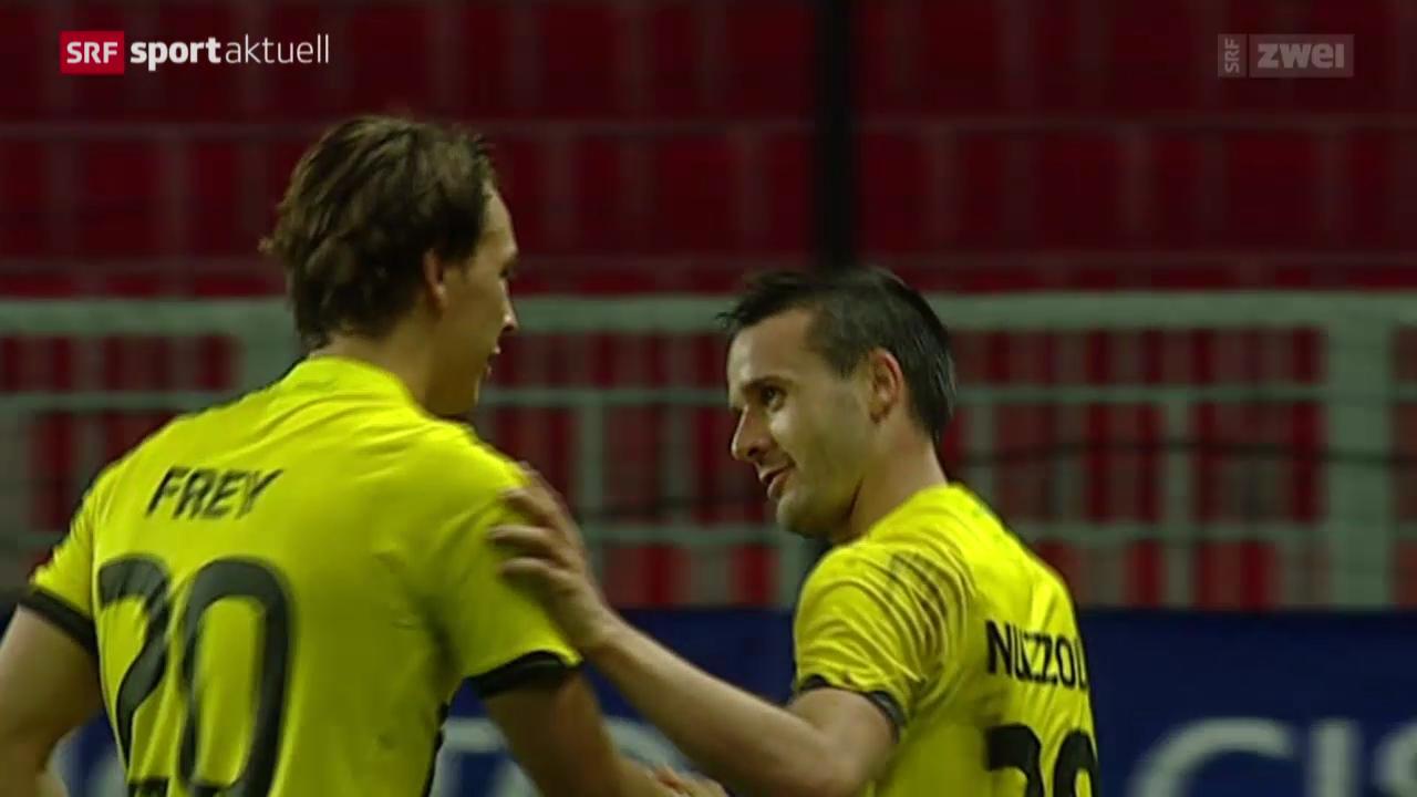 Fussball: Debrecen - Young Boys