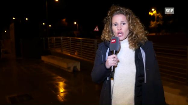 Video «Kathrin Hönegger ist in Rom angekommen» abspielen