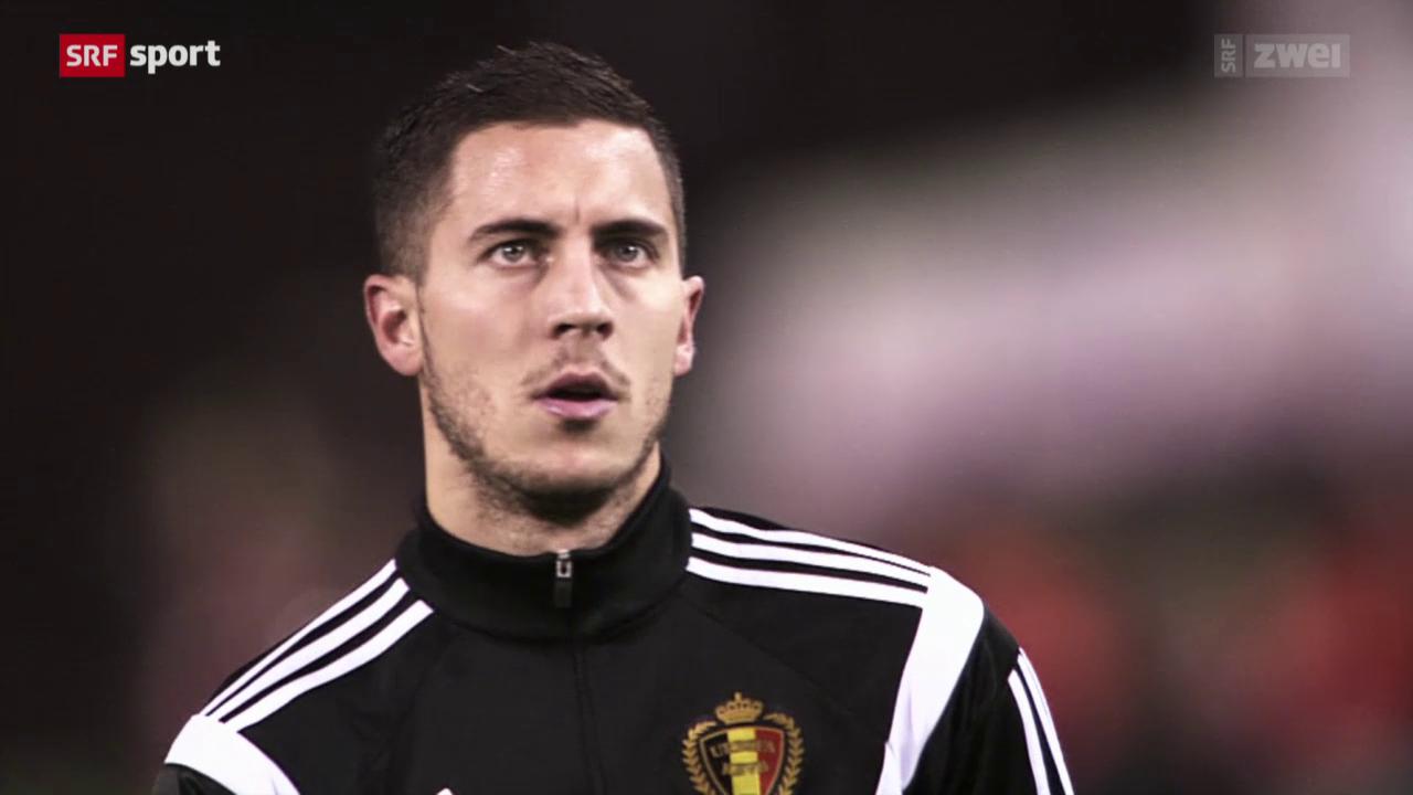 Belgiens Star Eden Hazard im Porträt