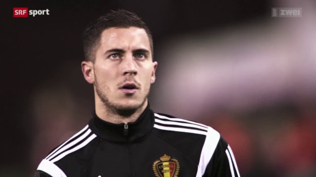 Video «Belgiens Star Eden Hazard im Porträt» abspielen