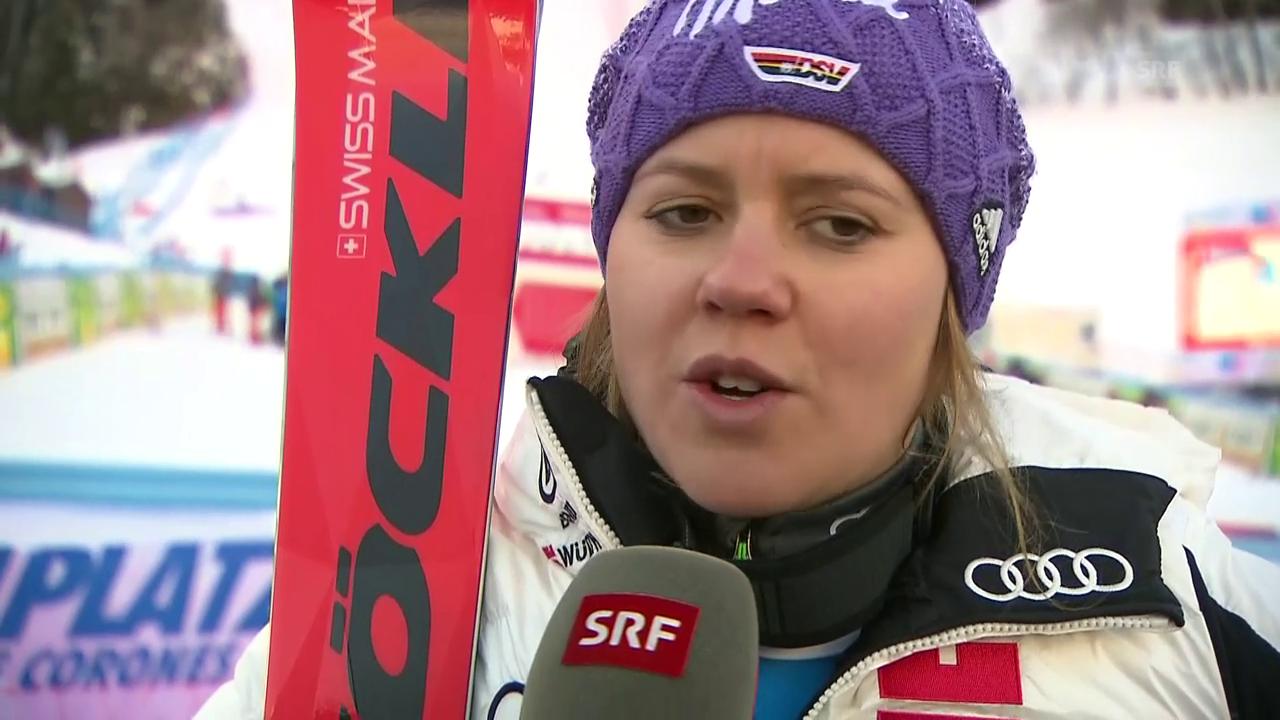 Rebensburg: «So kurz vor Olympia ist das doppelt gut»