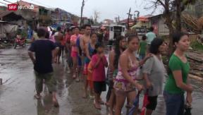 Video «Reportage aus den Philippinen » abspielen