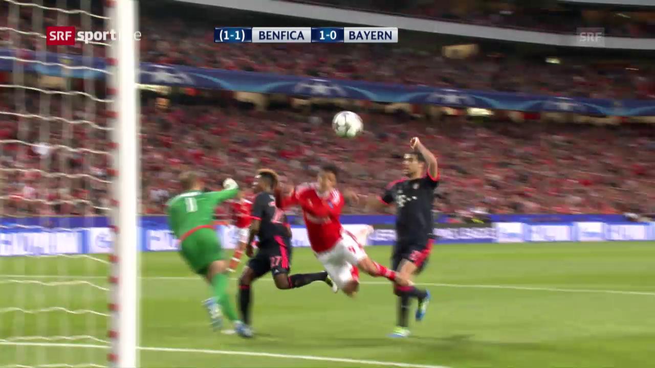 Highlights Benfica - Bayern