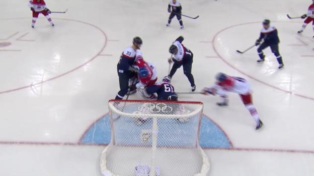 Video «Sotschi: Eishockey, Tschechien - Slowakei» abspielen