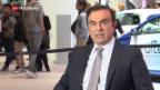 Video «Chef von Renault-Nissan verhaftet» abspielen