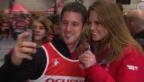 Video «Grosser Empfang für die Olympioniken» abspielen