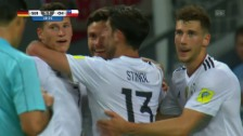 Video «Stindl erzielt das 1:1 für Deutschland» abspielen