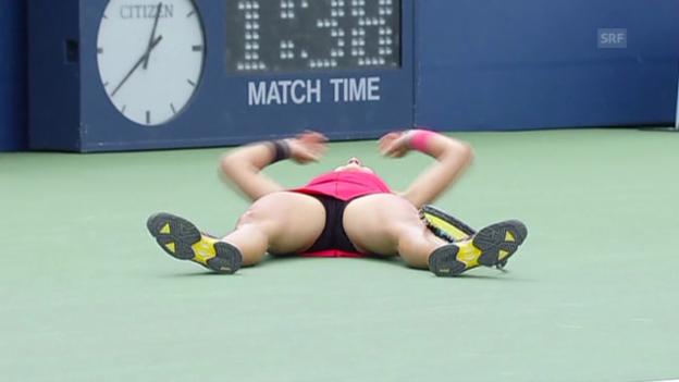 Video «Tennis: Krunic besiegt Kvitova» abspielen