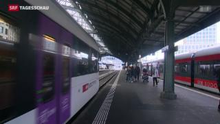 Video «Neuer SBB-Fahrplan: Bisher keine Probleme» abspielen