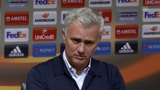 Video «Mourinho macht mit der Drohung ernst (engl.)» abspielen