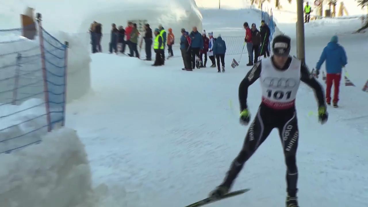 Langlauf: Weltcup in Toblach (It), Dario Cologna vor seinem Comeback
