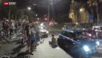 Video «Zwischenfall an Genfer Velo-Demo» abspielen