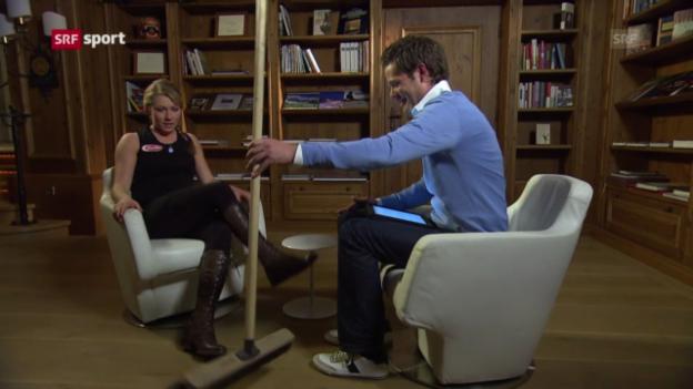 Video ««sportlounge»-Gespräch mit Mikaela Shiffrin» abspielen